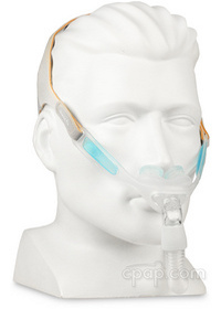 nuance-pro-gel-frame-angle-front-on-mannequin-cpapdotcom
