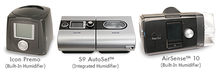 Icon Premo, S9 AutoSet™, AirSense™ 10