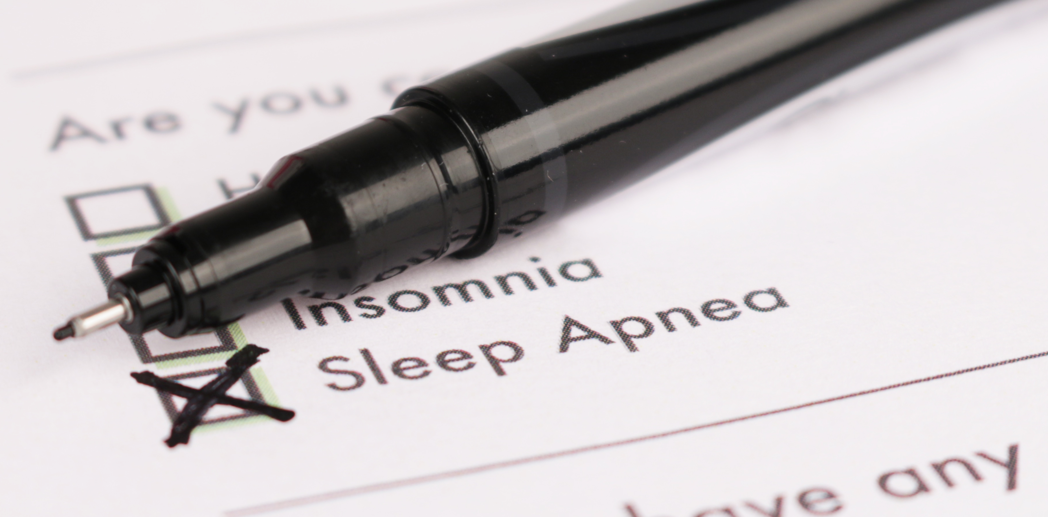 Sleep Apnea form