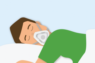 good sleep with cpap therapy