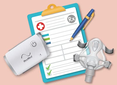 Get reimbursed for your CPAP equipment using our self-filing insurance form.