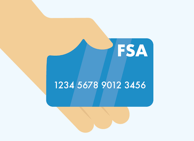 Use your FSA money for eligible supplies!