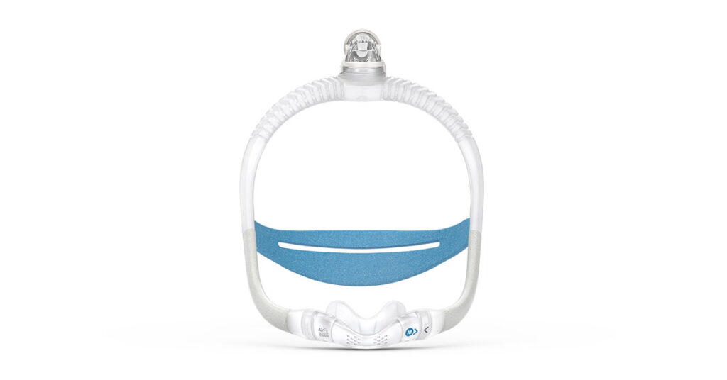 ResMed AirFit N30i front view of mask