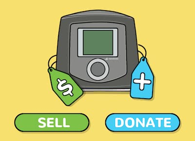 Used CPAP Machine to Sell or Donate? Here's What to Do With It