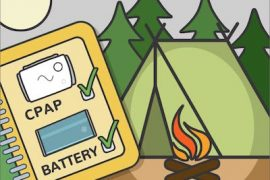 camping with your cpap