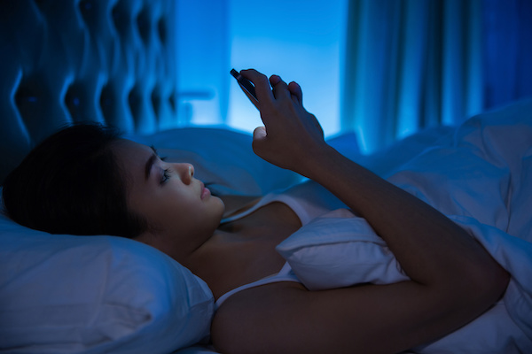 effects of blue light on sleep