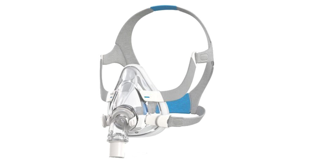 ResMed AirFit F20 Full Face CPAP Mask: Full face CPAP mask from ResMed, which is considered one of the best full face CPAP masks of 2021